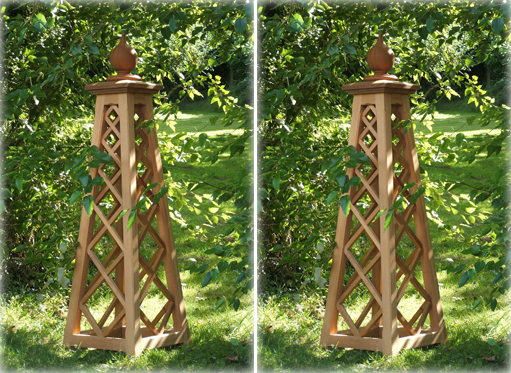17 Best images about Garden obelisks on Pinterest Gardens Diy