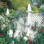 "2"" c/c Diamond Trellis with Obelisk Finials"
