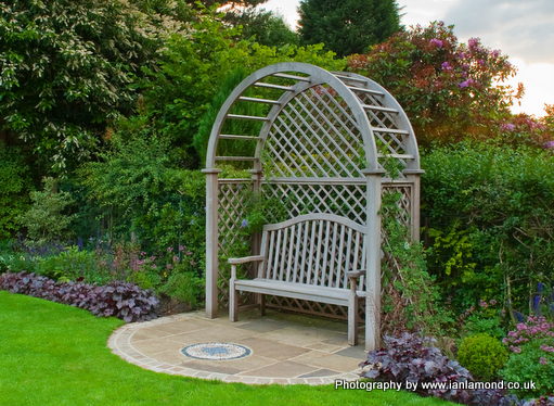 gazebo trellis gazebos planters garden gates benches hardwood trellis
