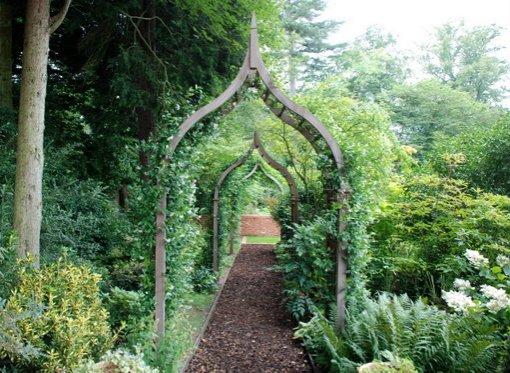 BACK TO ARCHES - Garden Benches Gates Gazebos Planters Hardwood Trellis